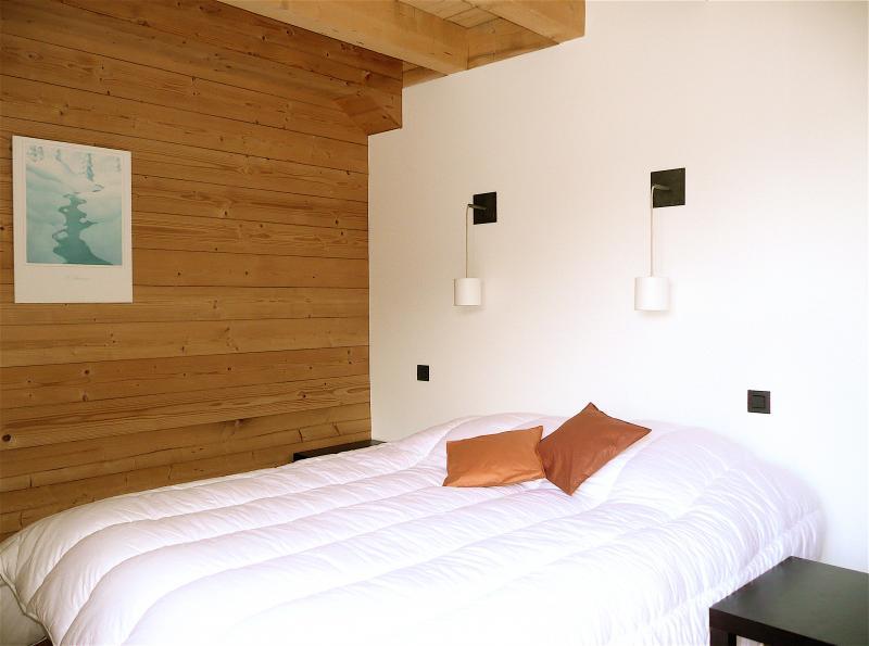 Schlafzimmer 2 Mietobjekt Chalet 32551 Les Contamines Montjoie
