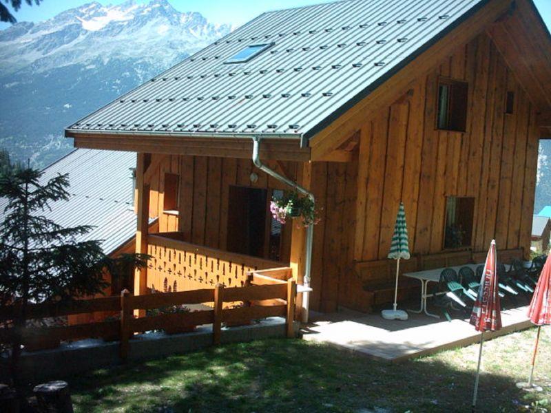 Garten Mietobjekt Chalet 3290 Valfréjus