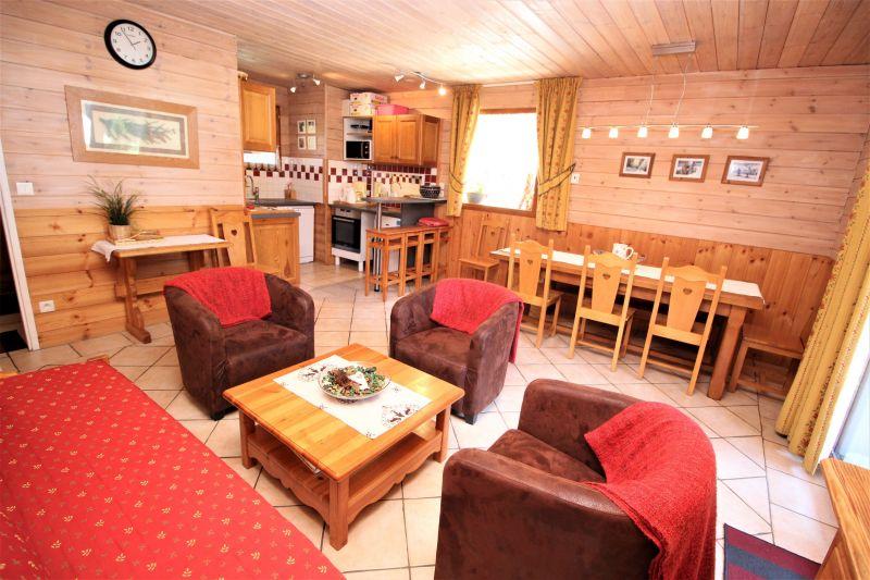 Wohnzimmer Mietobjekt Chalet 3290 Valfréjus