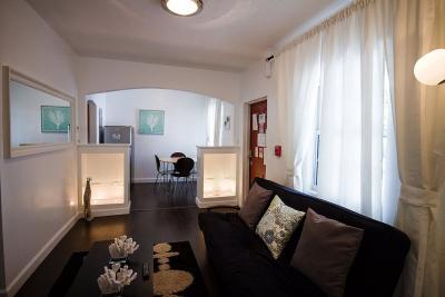 Wohnzimmer Mietobjekt Appartement 33596 South Beach