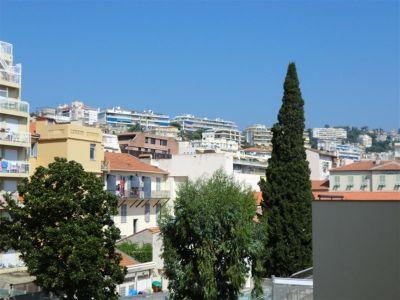 Ausblick vom Balkon Mietobjekt Studio 35014 Nice