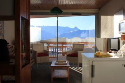 Ausblick aus der Ferienunterkunft Mietobjekt Appartement 36 Alpe d'Huez