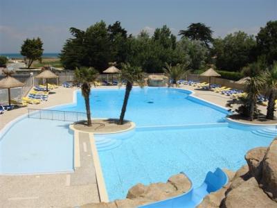 Schwimmbad Mietobjekt Mobil-Home 36398 Saint Denis d'Ol�ron