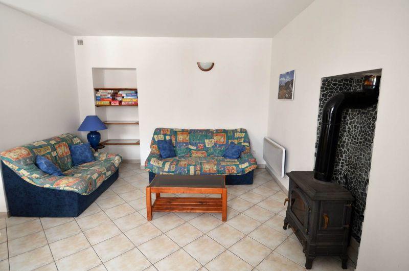 Wohnzimmer 2 Mietobjekt Haus 371 Auris en Oisans