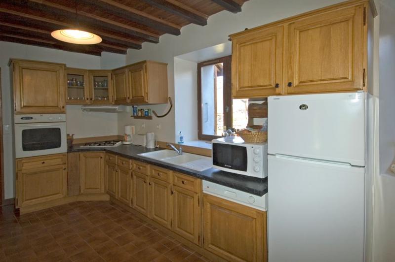 offene Küche 1 Mietobjekt Haus 371 Auris en Oisans