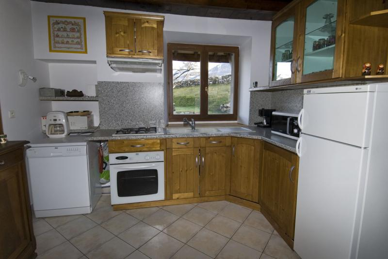 offene Küche 2 Mietobjekt Haus 371 Auris en Oisans