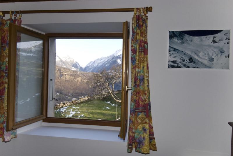 Ausblick aus der Ferienunterkunft Mietobjekt Haus 371 Auris en Oisans