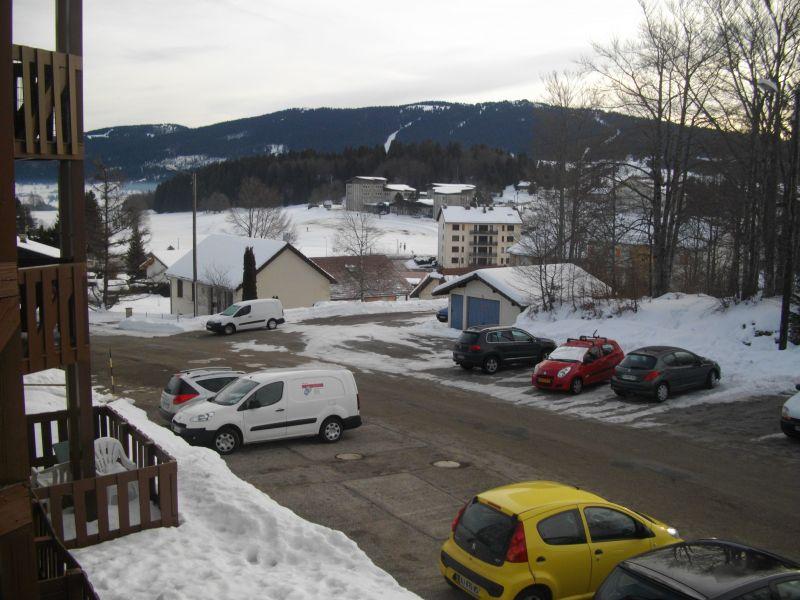 Ausblick vom Balkon Mietobjekt Appartement 3748 Les Rousses