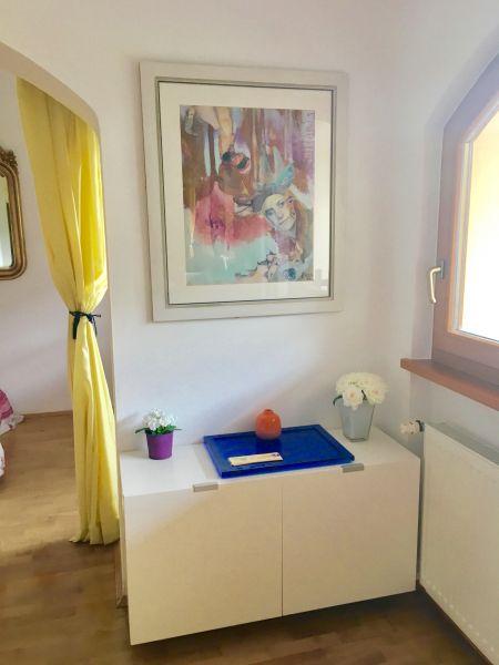 Wohnzimmer Mietobjekt Appartement 38385 Carezza