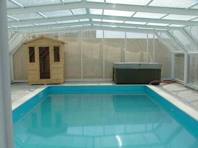 Schwimmbad Mietobjekt Ferienunterkunft auf dem Land 39129 Royan