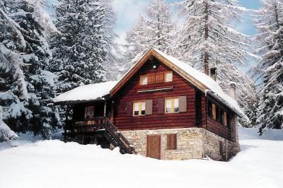 Ausblick aus der Ferienunterkunft Mietobjekt Chalet 39337 Vigo di Fassa