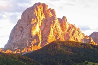 Ausblick aus der Ferienunterkunft Mietobjekt Appartement 39626 Selva di Val Gardena