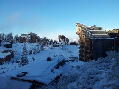 Ausblick vom Balkon Mietobjekt Studio 407 Avoriaz