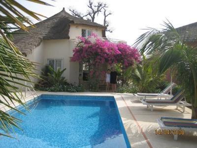 Schwimmbad Mietobjekt Villa 40814 Saly