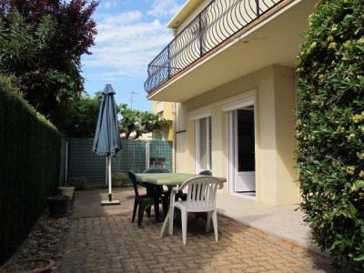 Garten Mietobjekt Appartement 41098 Valras-Plage