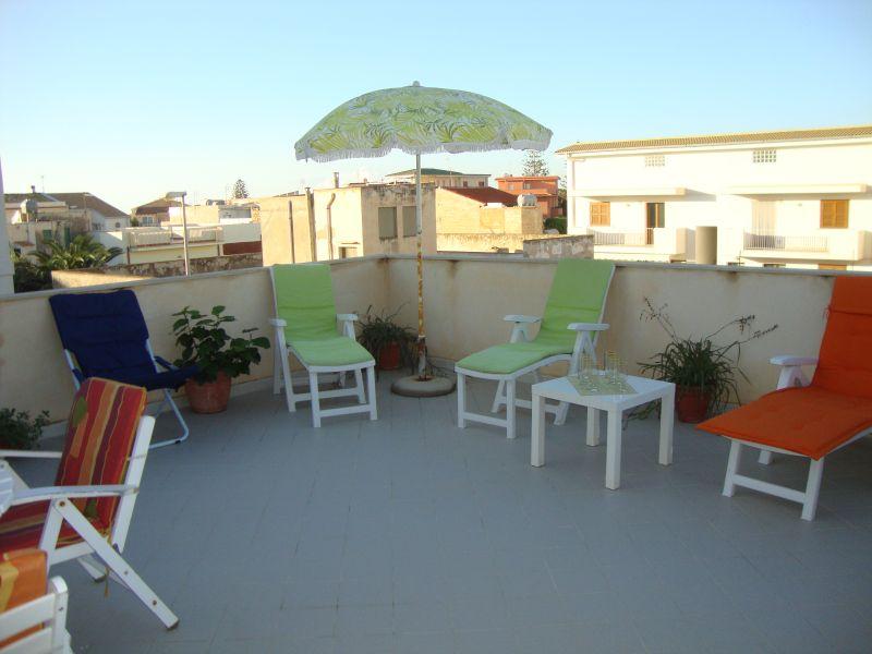 Terrasse Mietobjekt Haus 43100 Punta Secca