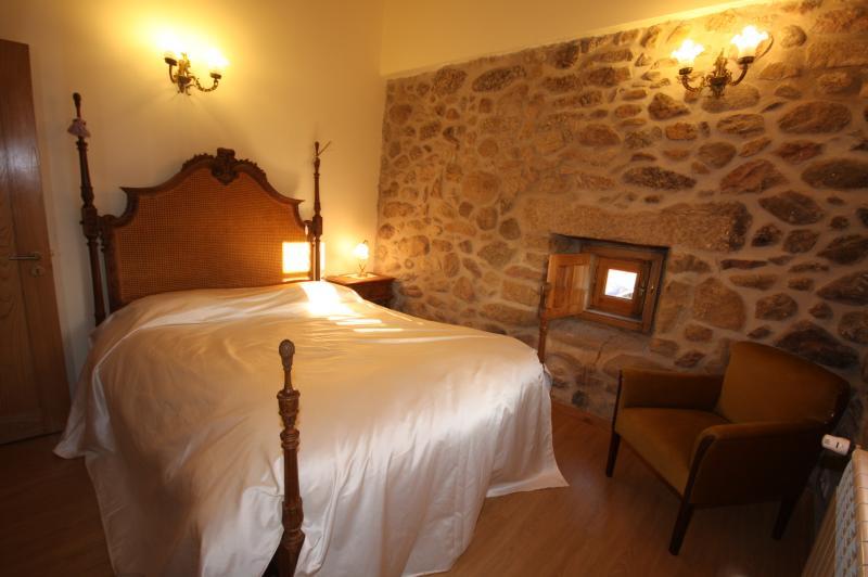 Schlafzimmer Mietobjekt Ferienunterkunft auf dem Land 43861