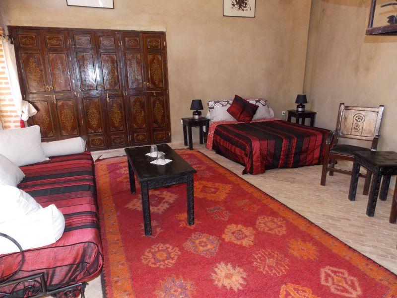 Schlafzimmer 1 Mietobjekt Fremdenzimmer 45751 Marrakesch