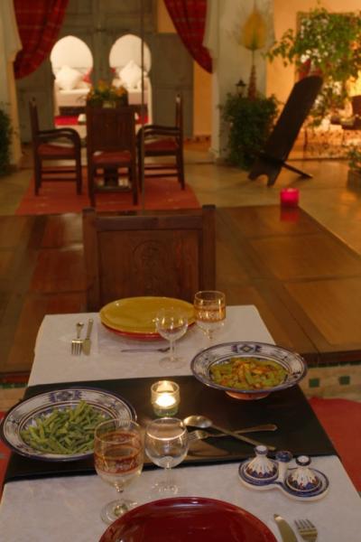 Ausblick aus der Ferienunterkunft Mietobjekt Fremdenzimmer 45751 Marrakesch