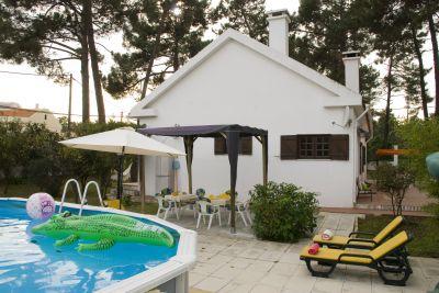 Schwimmbad Mietobjekt Haus 47227 Costa de Caparica