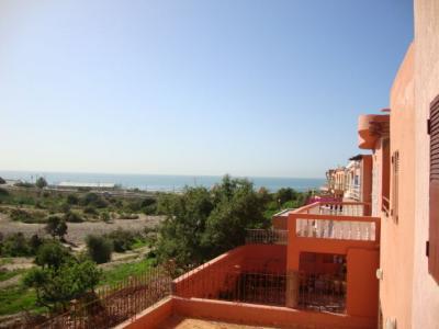 Ausblick vom Balkon Mietobjekt Haus 48489 Taghazout