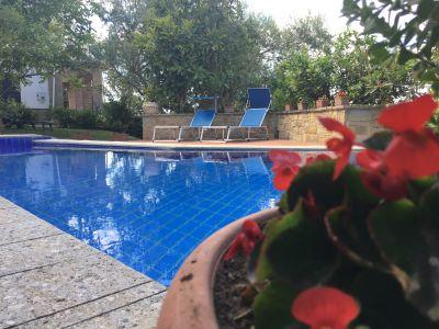 Schwimmbad Mietobjekt Appartement 48956 Santa Maria di Castellabate