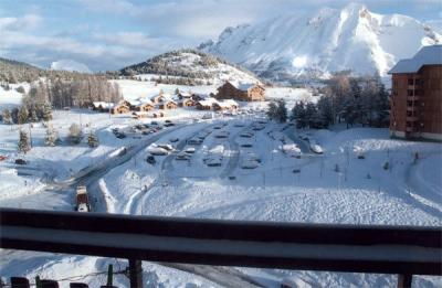 Ausblick vom Balkon Mietobjekt Studio 49225 Superdévoluy- La Joue du Loup