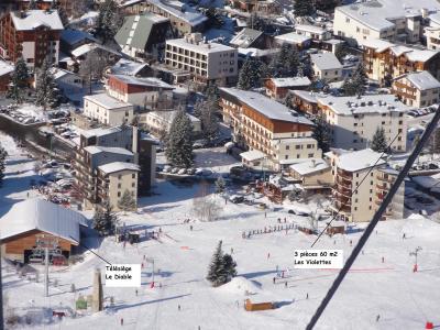 Ansicht des Objektes Mietobjekt Appartement 49459 Les 2 Alpes