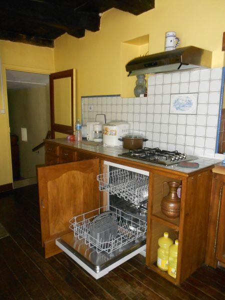 separate Küche Mietobjekt Ferienunterkunft auf dem Land 51135 Saint-Cirq-Lapopie