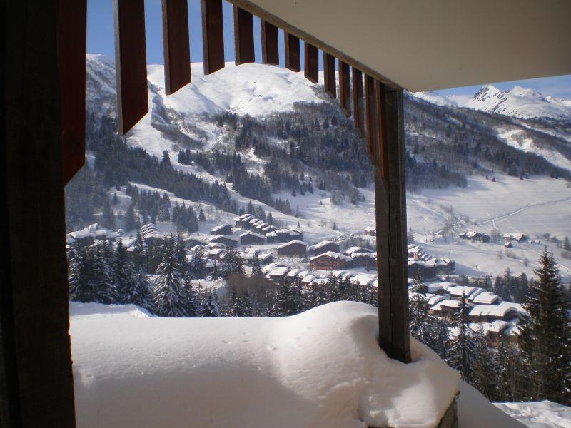 Ausblick aus der Ferienunterkunft Mietobjekt Appartement 51430 Valmorel