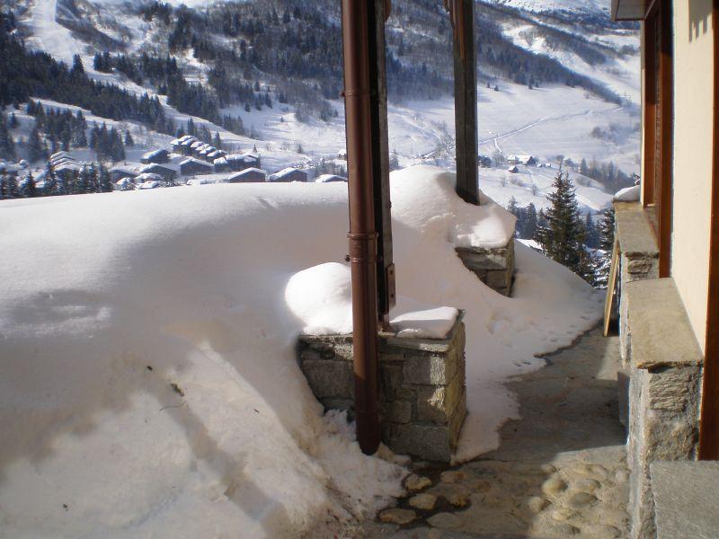 Ausblick von der Terrasse Mietobjekt Appartement 51430 Valmorel