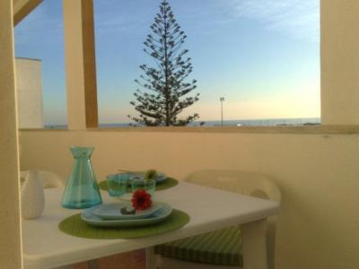 Ausblick vom Balkon Mietobjekt Appartement 52423 Costa de Caparica