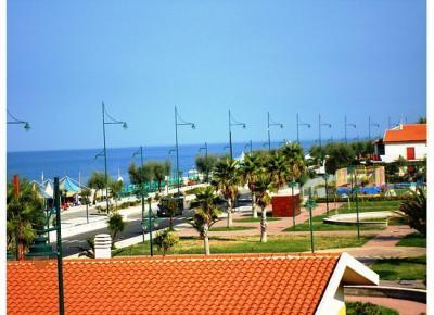 Ausblick vom Balkon Mietobjekt Appartement 52922 Marina di Tortora
