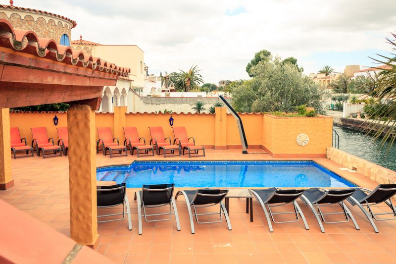 Ausblick vom Balkon Mietobjekt Villa 53410 Empuriabrava
