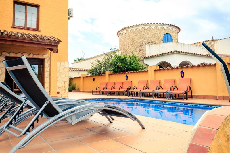 Schwimmbad Mietobjekt Villa 53410 Empuriabrava