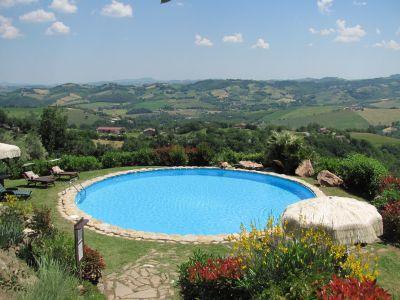 Schwimmbad Mietobjekt Villa 53506 Penna San Giovanni