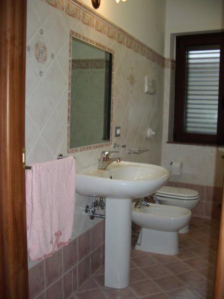 Badezimmer Mietobjekt Villa 54358 Capo d'Orlando
