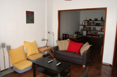 Wohnzimmer Mietobjekt Appartement 55241 Lissabon
