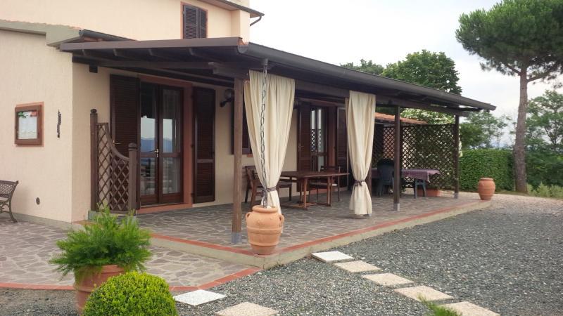 Veranda Mietobjekt Villa 55549 Roccastrada