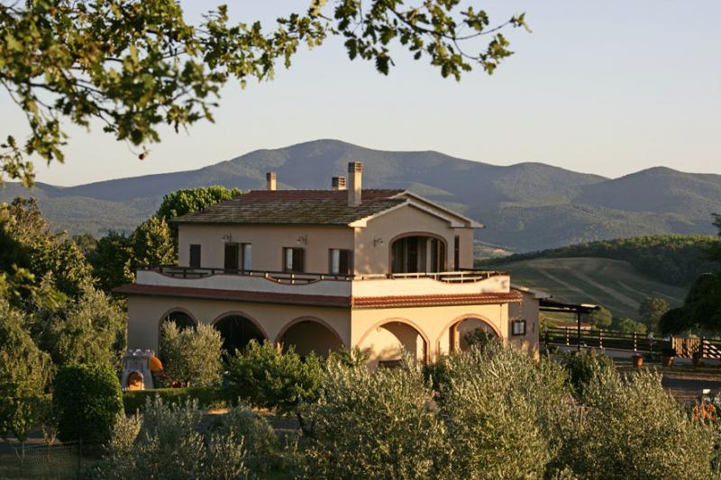 Ansicht des Objektes Mietobjekt Villa 55549 Roccastrada