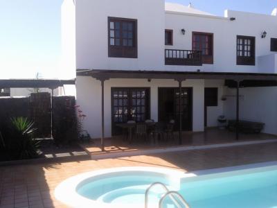 Schwimmbad Mietobjekt Villa 55790 Playa Blanca