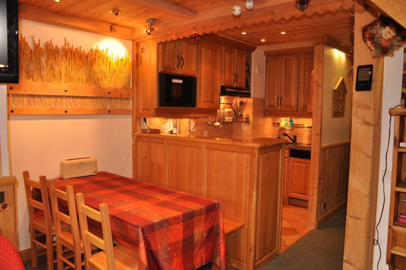 offene Küche Mietobjekt Appartement 55934 Valmorel