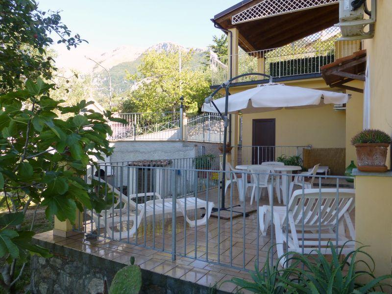 Terrasse Mietobjekt Appartement 56238 Maratea