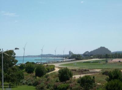 Ausblick von der Terrasse Mietobjekt Studio 56501 Cagnes sur Mer