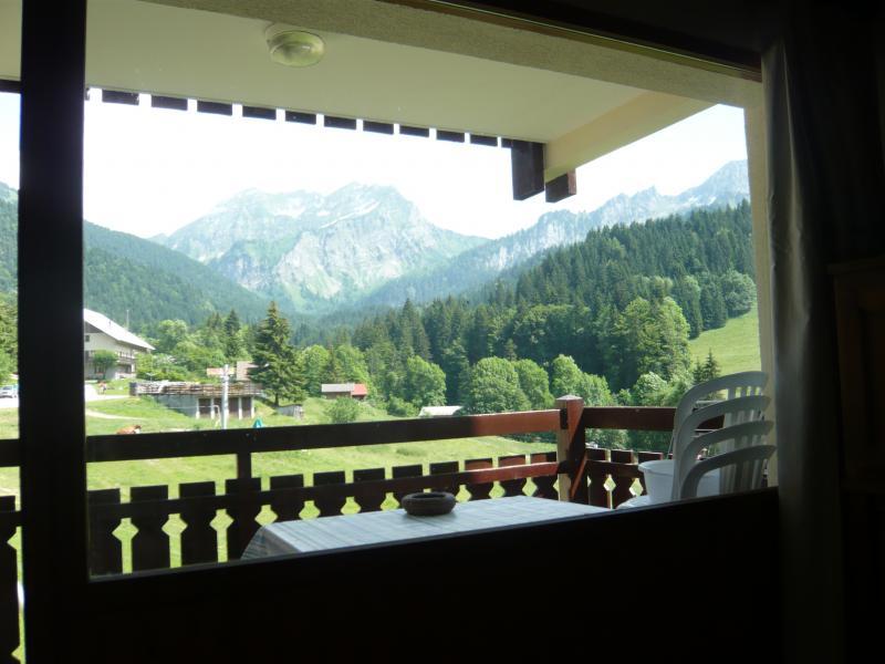 Ausblick aus der Ferienunterkunft Mietobjekt Studio 56981 Bellevaux Hirmentaz La Chèvrerie