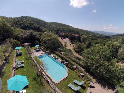 Ansicht des Objektes Mietobjekt Ferienunterkunft auf dem Land 57056 Arezzo