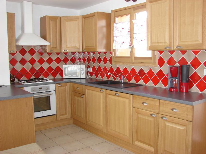 offene Küche Mietobjekt Chalet 57805 Montgenevre