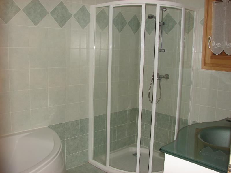 Badezimmer Mietobjekt Chalet 57805 Montgenevre