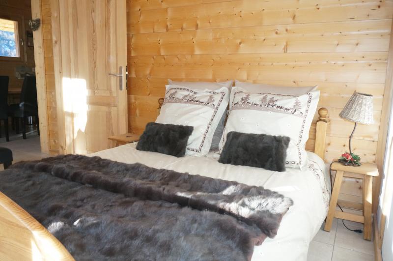 Schlafzimmer 1 Mietobjekt Appartement 58587 Saint Gervais Mont-Blanc