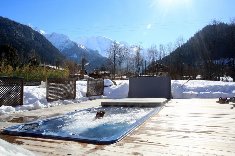 Ausblick aus der Ferienunterkunft Mietobjekt Appartement 59034 Saint Gervais Mont-Blanc